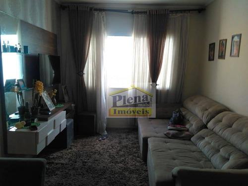 Imagem 1 de 10 de Apartamento Com 3 Dormitórios À Venda, 61 M² - Jardim Marchissolo - Sumaré/sp - Ap1055