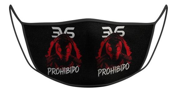 Mascara De Proteção Esportiva 3vs Prohibido