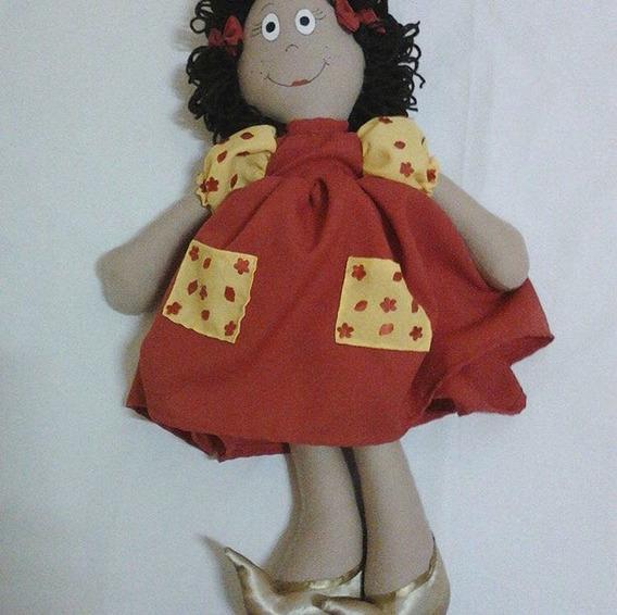 Boneca: Manu Manuelita E Seus Sapatos Dourados.