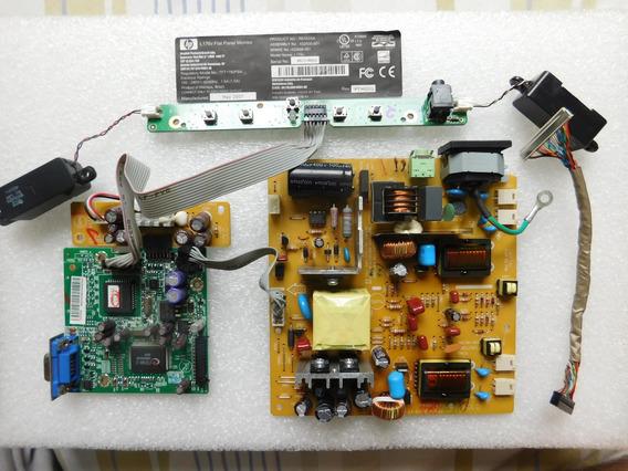 Placa Principal E Fonte Monitor L176v E Lm722p Completa