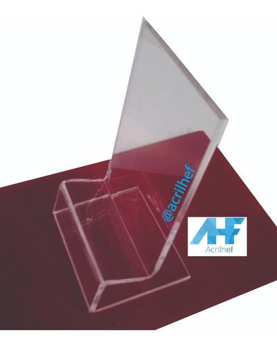 3 Exhibidores Mostradores Acrílico Para Celulares 2 Mm