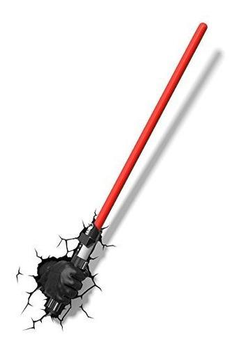 3dlightfx Star Wars Darth Vader Hand Con Sable De Luz 3d Dec