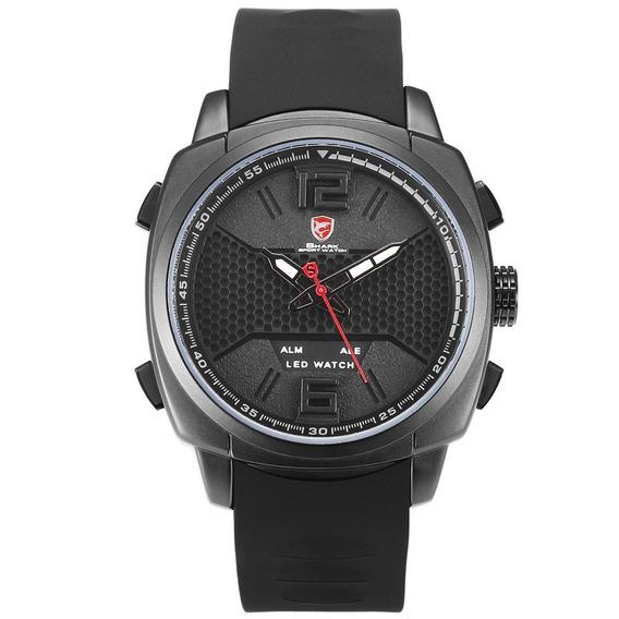 Desh076 Duplo Exibição Relógio Quartzo Mão Decoração R