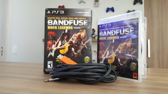 Bandfuse Rock Legends - Ps3 - Original Com Cabo