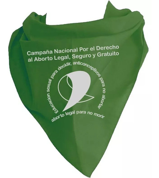 Pañoleta Verde - Aborto Legal - México