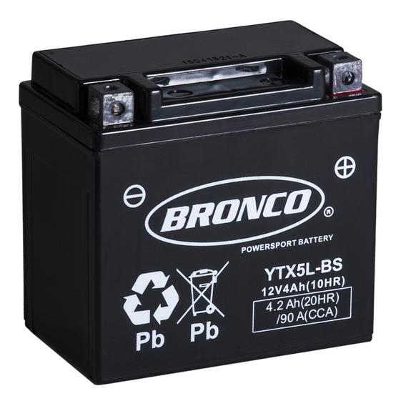 Bateria Bronco Ytx5l-bs