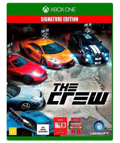 Jogo The Crew Signature Xbox One Mídia Física