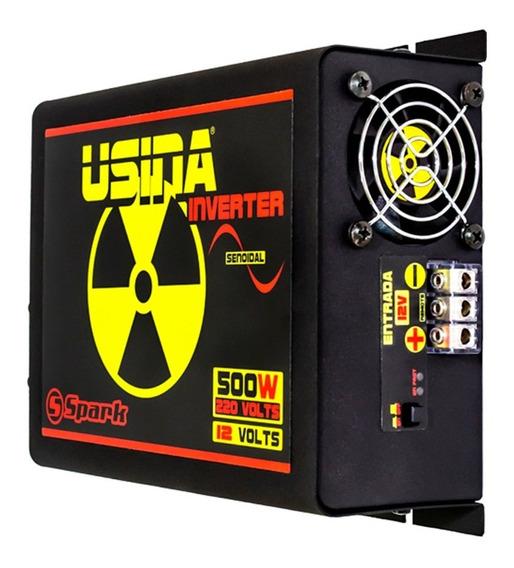 Inversor De Tensão Senoidal Usina Inverter 500w 12v 220v