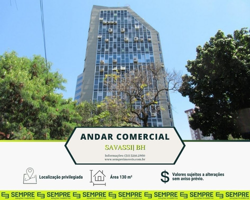 Imagem 1 de 14 de Andar Corporativo À Venda, 130 M² - Savassi - Belo Horizonte/mg - Ac0042