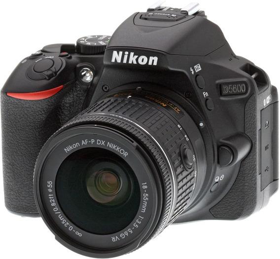 Câmera Dslr Nikon D5600 Com Acessórios