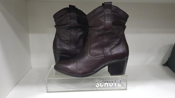 Bota Hot Brown - Schutz - New Western Slouchy Boot