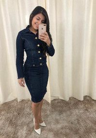 85a1f7f945 Blazer Jeans Feminino Femininos - Casacos no Mercado Livre Brasil