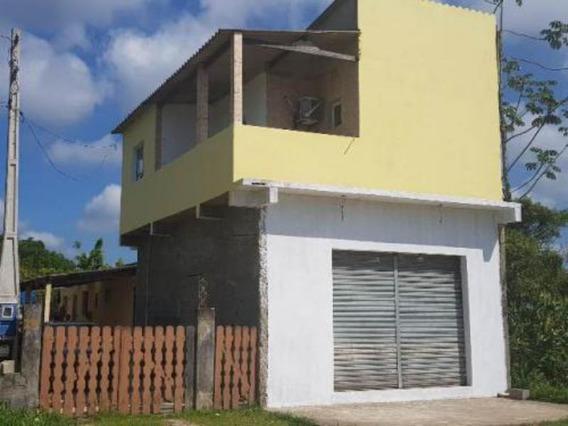 Casa + Comércio Na Estância São Pedro - Itanhaém 5101 P.c.x