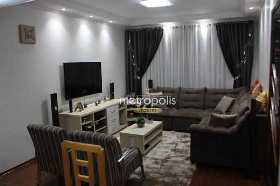 Sobrado Com 3 Dormitórios À Venda, 253 M² Por R$ 1.100.000,00 - Osvaldo Cruz - São Caetano Do Sul/sp - So0777