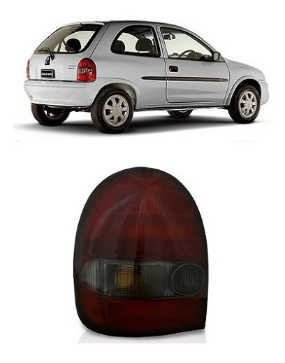Lanterna Traseira Corsa Wind 2p 96 1997 1998 1999 2000 Fumê