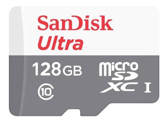 Cartão De Memória 128gb Sandisk Micro Sd - Promoção Até Fds!