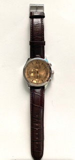 Relógio Guess Original Pulseira De Couro