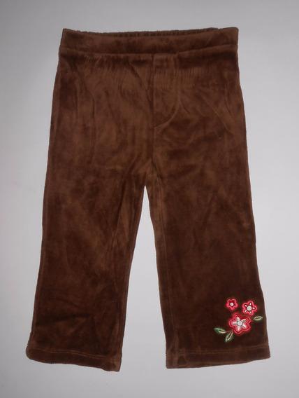 Kids Play Pantalón De Pants Velour C Bordado Talla 18 Meses