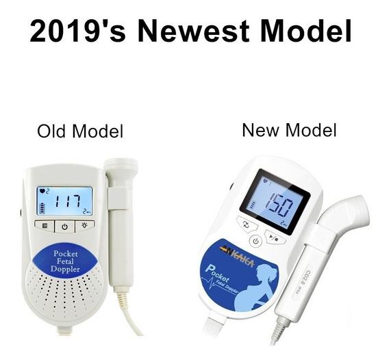 Doppler Bebé Fetal Monitor De Ritmo Cardíaco