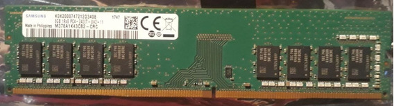 Memória Samsung 8gb 2400t Mhz