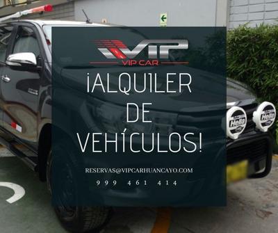Alquiler De Camionetas 4x4 Huancayo, Camionetas Suv, Autos