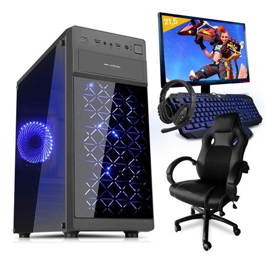 Pc Gamer Smart Pc 81292 Intel I5 8gb(gtx 1650)1tb+cadeira