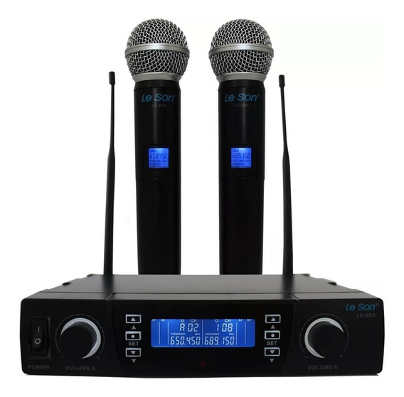 Microfone Lsx02 Digital Pll Multifrequência 100 Le Son 2am00