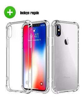 Funda Case Protector Acrigel iPhone (uso Rudo) + Regalo