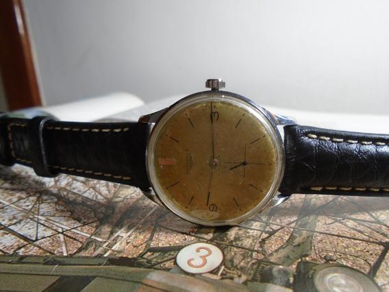 Longines Antigo Cal 30 L Ref 7163 3 36,00 Mm Ano 1966
