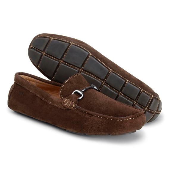 Sapato Casual Sapatenis Em Couro Mocassim Docksider Oferta