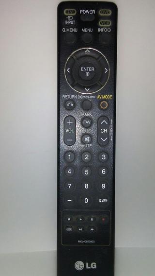 Controle Remoto Original Tv Lg Plasma 42pg60d Usado