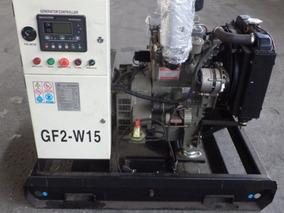 Grupo Gerador Aberto A Diesel 21 Kva Com Base De Aço