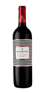 Vino Diamandes De Uco Malbec 750ml. - Envíos