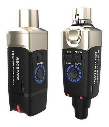 Sistema Adaptador Inalambrico Para Microfono Xvive U3 Cuota