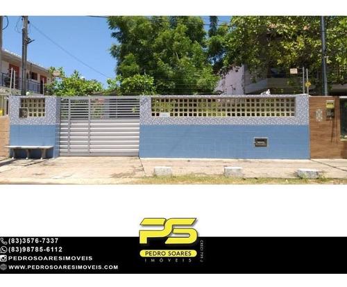 Imagem 1 de 11 de Casa Com 3 Dormitórios À Venda, 400 M² Por R$ 500.000 - Camboinha - Cabedelo/paraíba - Ca1099