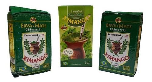 Imagem 1 de 1 de Kit De Erva Mate Para Chimarrão - Ximango