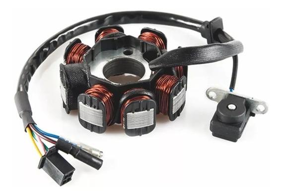Estator Magneto Dafra Lazer 150 / Future 8 Bobinas