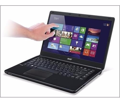 Notebook Acer E1-470p Touch Screen