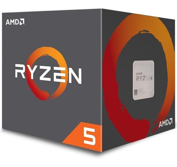 Processador Am4 Ryzen 5 2600 C/ Wraith Stealth Cooler, Six C