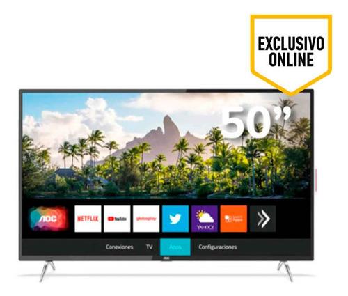 Televisor Aoc Led Uhd Smart, Pantalla Plana De 50