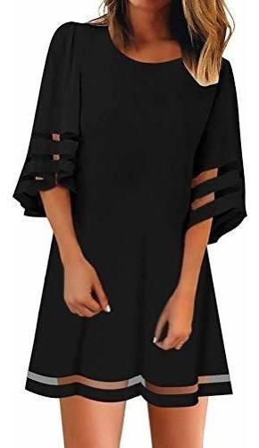 Romose Vestidos De Fiesta Para Mujer Verano Transparente Ma