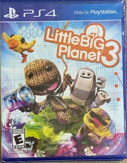 Jogo Little Big Planet 3 Ps4