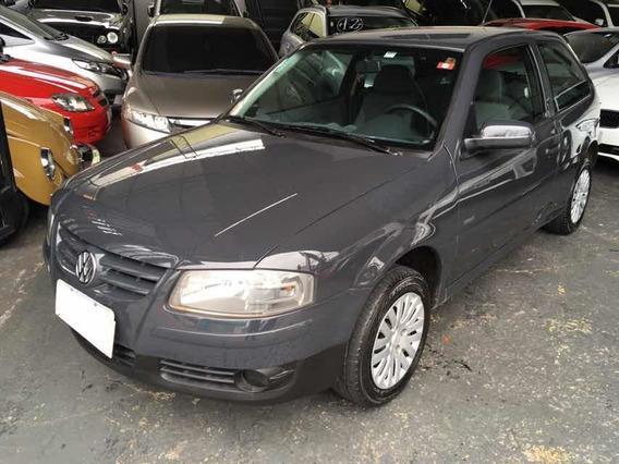 Volkswagen Gol Trend Giv 1.0 Flex 2009 Cinza