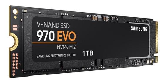 Ssd Samsung 970 Evo 1tb M.2 2280 Nvme Pcie 3.0 12xsemjuros