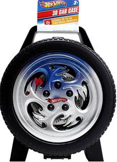 Hot Wheels Caja Estuche De Juego Para Guardar 30 Carritos