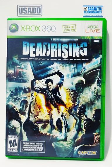 Jogo Dead Rising 1 Xbox 360 Mídia Física Semi Novo