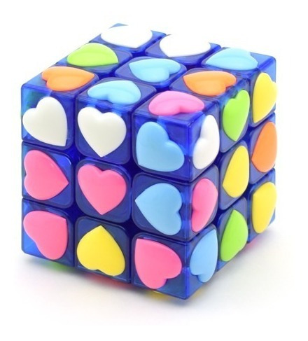 Cubo Magico Rubik Original Yj Love 3x3x3 Tiles Stickerless