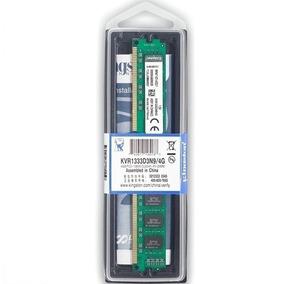 Memória Kingston Ddr3 4gb 1333 Mhz Pc3 10600 Kvr1333d3n9/4g