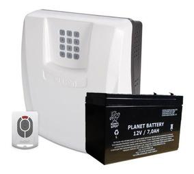 Kit Central Alarme Residencial Sulton Gsm 1000 Chip 10 Zonas