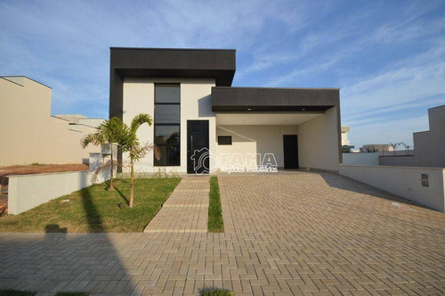 Casa Com 3 Dormitórios À Venda, 154 M² Por R$ 1.100.000,00 - Residencial Club Portinari - Paulínia/sp - Ca2206